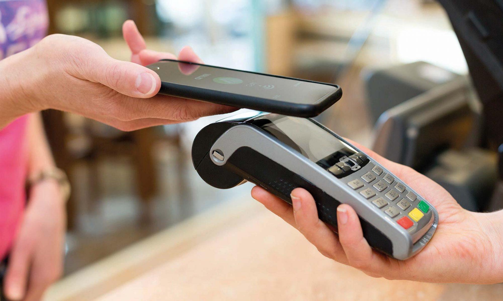 Безконтактни плащания с телефон