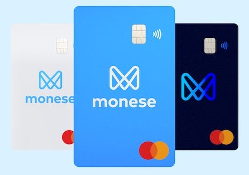Monese cards